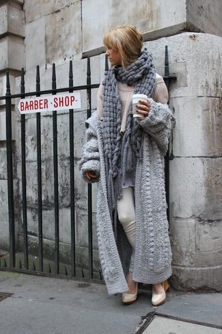 open-cardigan-oversized-sweater-dress-shirt-skinny-pants-wedge-pumps-scarf-large-4863
